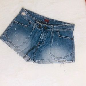 f873f72603799a Fossil Shorts | Cuffed Hem Size 4 Dark Gray | Poshmark